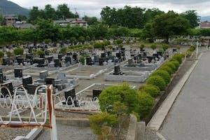 安曇野市営 黒沢霊園の画像