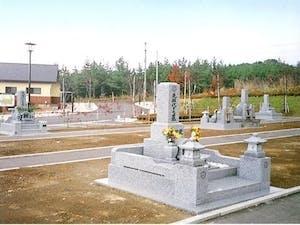 鯵沢町営 鰺ケ沢町墓地公園の画像
