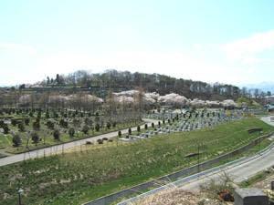 会津若松市営 大塚山墓園の画像