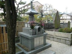 楽音寺墓苑の画像