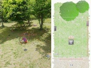 真光寺 里山の樹木葬の画像