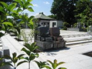 向得寺墓苑の画像