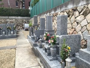 光明寺境内墓地の画像