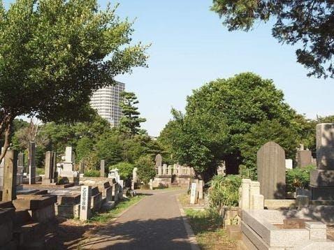 了俒寺 谷中墓苑