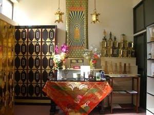 法照寺境内墓地の画像