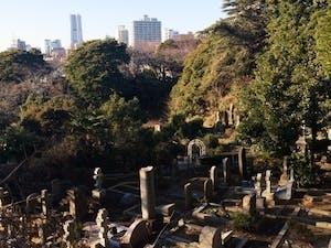 横浜外国人墓地の画像