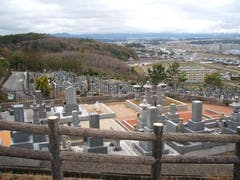 城ケ丘墓地公園の画像
