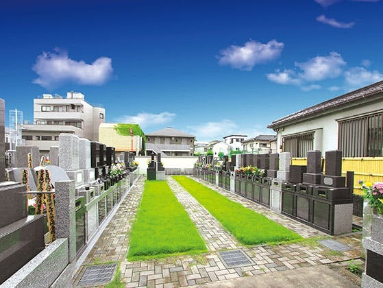 静翁寺墓苑