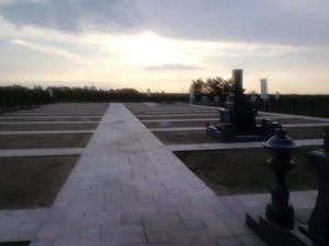 富山墓苑の画像