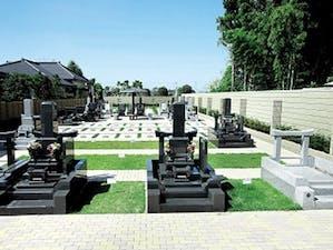 常楽寺つつじ墓苑の画像