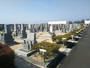 東員町墓地公園の画像
