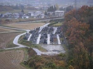 松窪墓地の画像