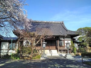 世田谷 無量寺墓苑の画像