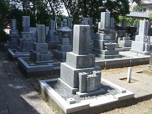 三光寺墓地の画像