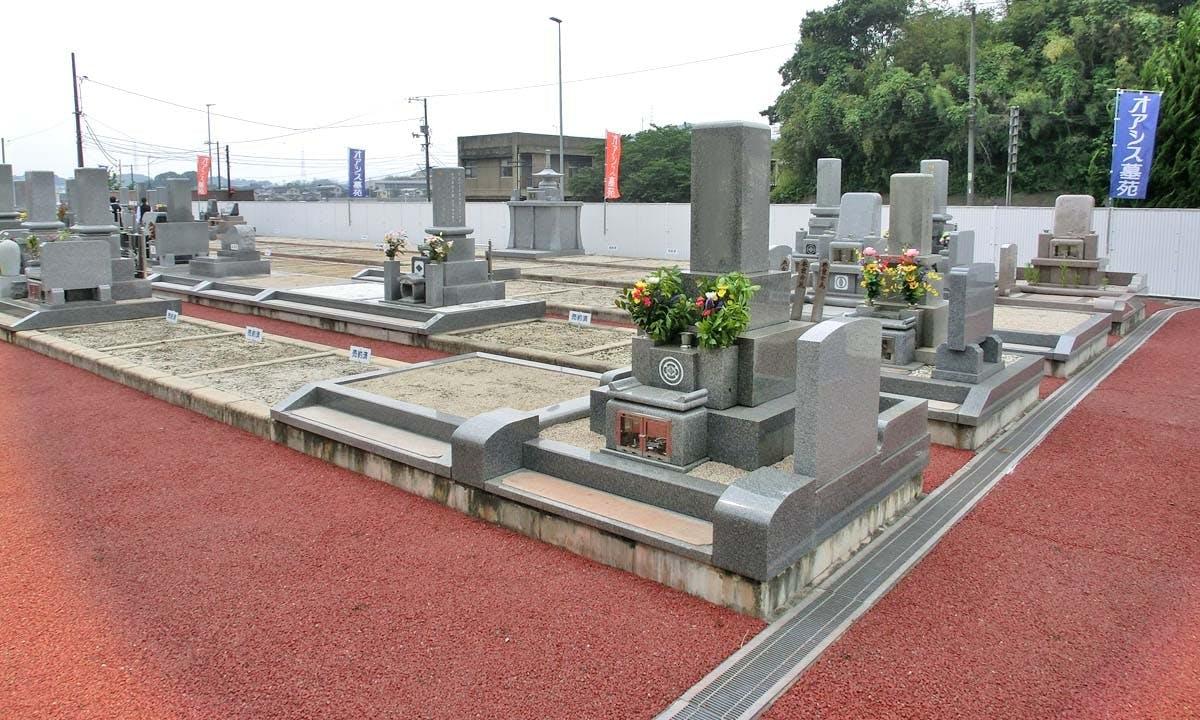 オアシス墓苑 大門