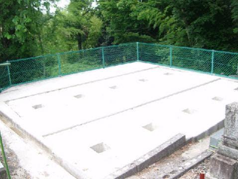 卯辰山近辺墓所