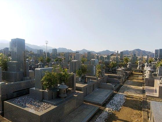 西条市営 国安松之上墓地