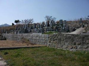 初村墓地(新庄墓地)の画像