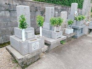 桜馬場墓地の画像