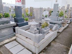 沖の浜共同墓地の画像