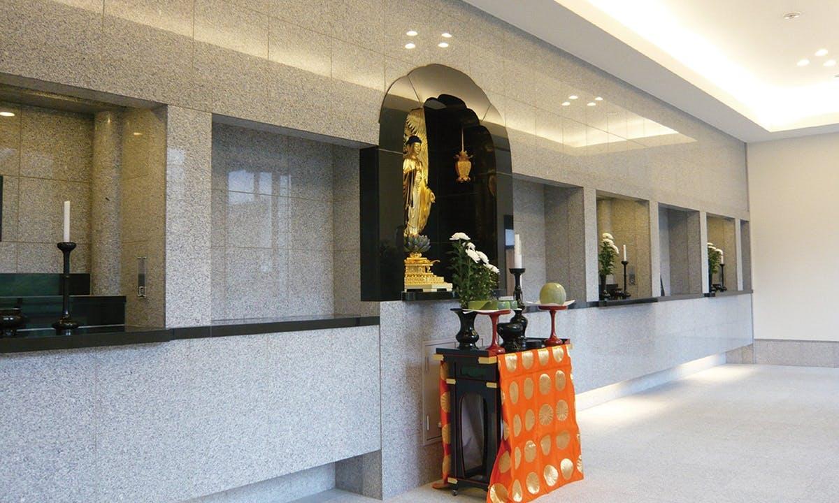 雲龍院「龍華堂」 永代供養付室内墓苑