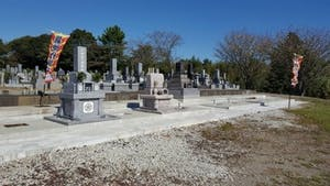 春林墓地の画像