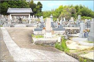 墓山墓地の画像