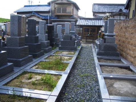 高槻三島江真光寺墓地