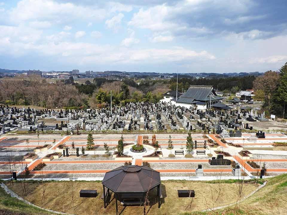 曹洞宗 小峰山 柳澤寺 みはらしの丘墓園