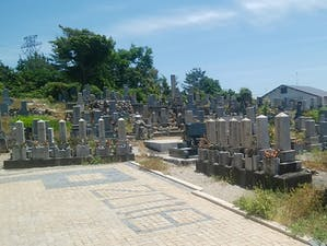 米谷墓地の画像