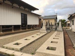林正寺墓地の画像