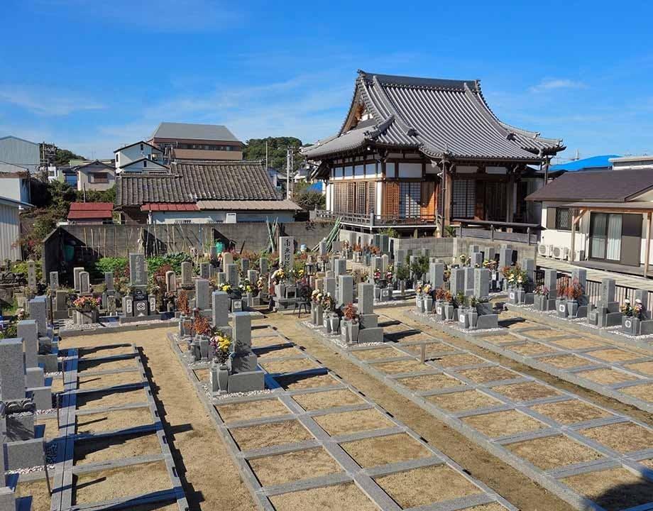 真乗寺墓地