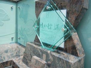 板橋向原浄苑 永代供養墓「風の標識」の画像