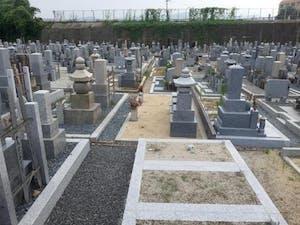 上植野町墓地の画像