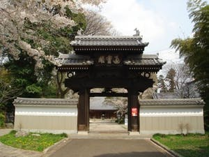 天岑寺墓苑の画像