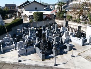 東貝沢共同墓地の画像