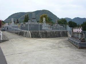 甘久墓地の画像