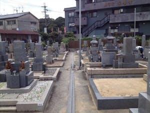 小山共同墓地の画像