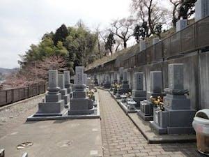 桜ヶ丘墓苑の画像