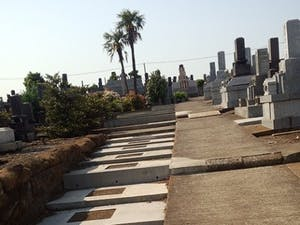 根岸共同墓地の画像