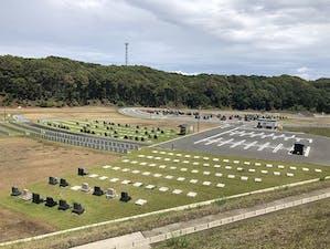 袋井市夢の丘墓園の画像