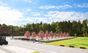 杜の郷霊園 庭園葬の画像