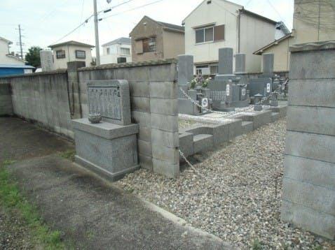 日輪寺南墓地
