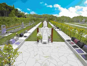 墓地公園ならしのガーデンパークの画像