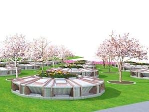 真駒内滝野霊園 樹木葬「さくらガーデン」の画像