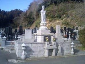 洞安寺墓地の画像