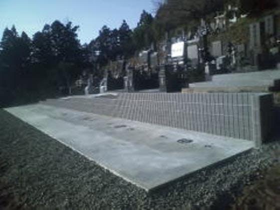前谷寺墓地