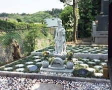 流山樹木葬墓地の画像