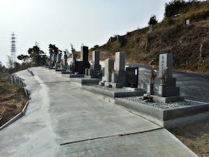 不入斗共同墓地の画像