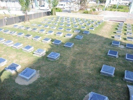白浜浄苑樹木葬墓地